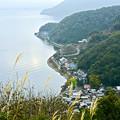 琵琶湖最北端