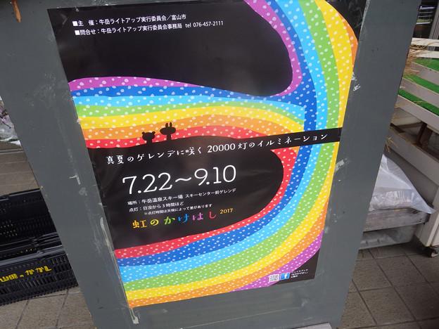 今年もあるぞ、虹のかけはし2017