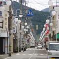 レトロな街灯の町