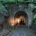 写真: 富山名物県道67号線 池原隧道 1号