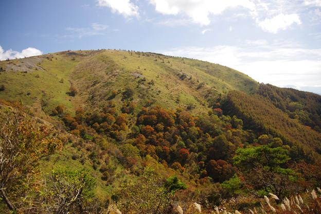 紅葉の鉢伏山