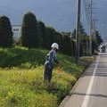 写真: 権兵衛峠へ