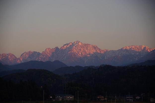 11月の剱岳