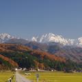 里山と剱岳