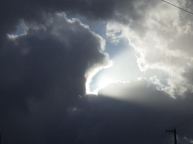 冬雲の上は快晴なんだぜ