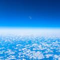 Photos: 空と海 月と雲