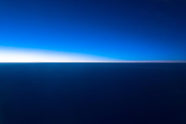 空と海とが交わる場所
