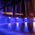 泉と滝の広場
