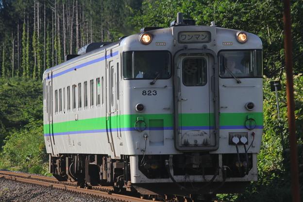 キハ40形700番台キハ40-823 普通長万部行き