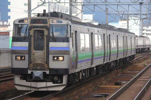 キハ201形ナホD-101編成 快速ニセコライナー札幌行き