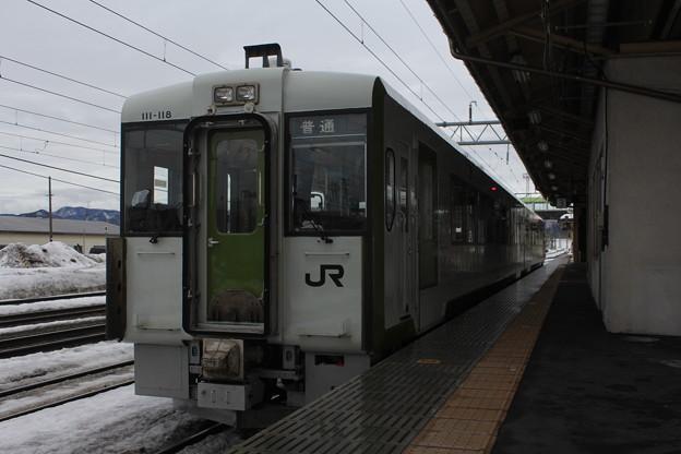 キハ111形100番台キハ111-118 普通盛岡行き