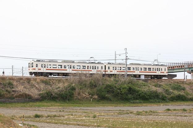 119系5100番台カキM8編成 普通豊橋行き