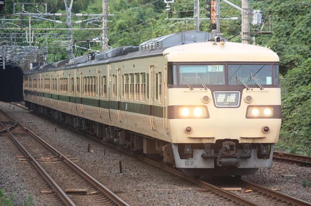 117系キトS02編成 普通京都行き