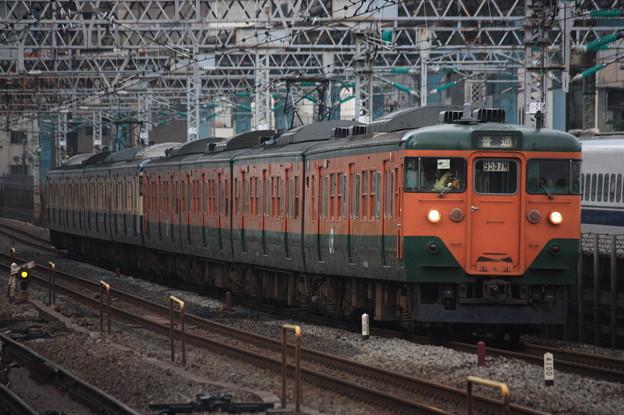Photos: 113系2000番台マリ117編成 回送