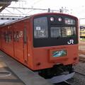 Photos: 201系トタH6編成 ホリデー快速おくたま2号新宿行き