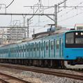 201系ケヨK1編成 廃車回送