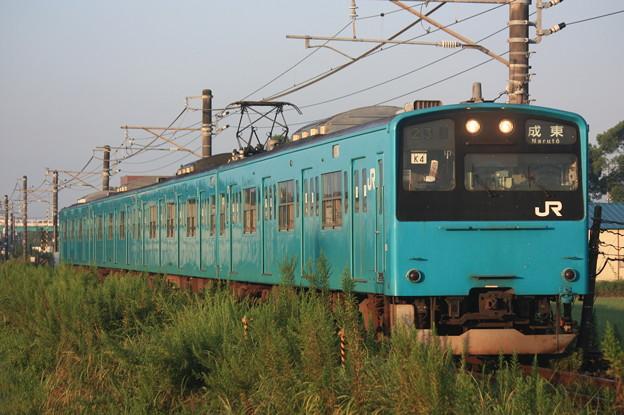 201系ケヨK4編成 普通成東行き