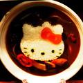 写真: キティちゃんカレー