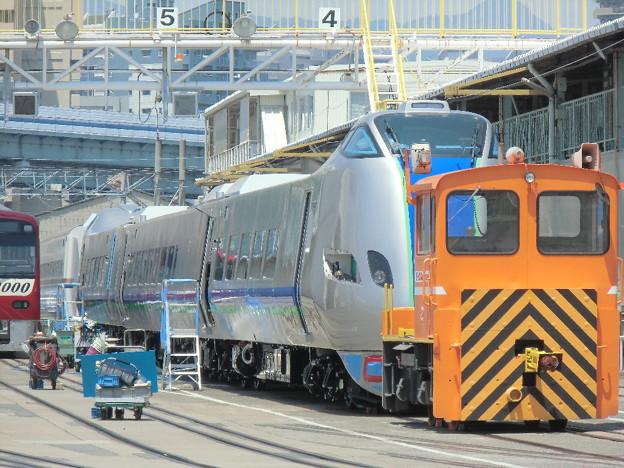 まぼろしのキハ285系(きままな鉄道模型さん)