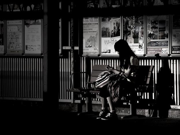 Photos: 初夏の夕日