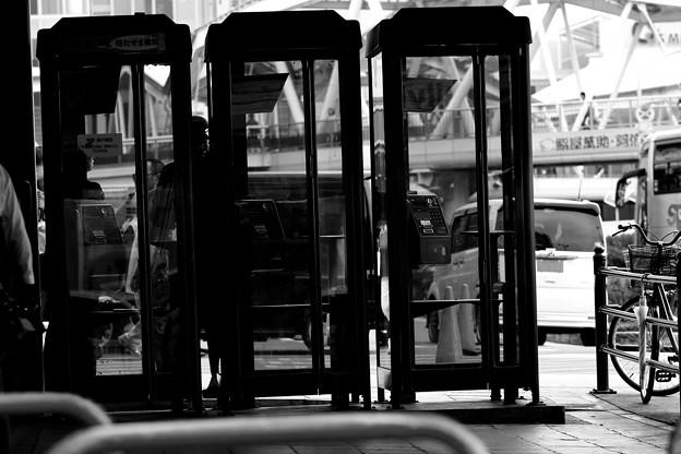 つかわれない公衆電話