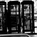写真: つかわれない公衆電話