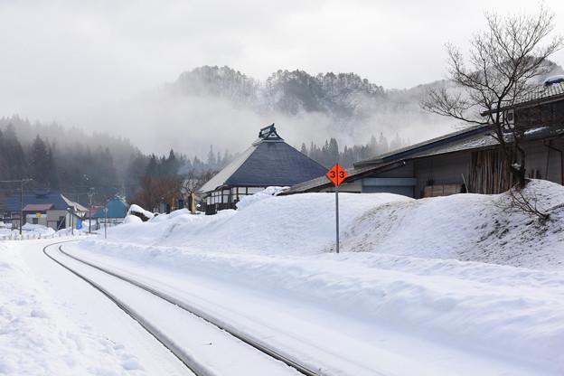 只見線の会津西方駅