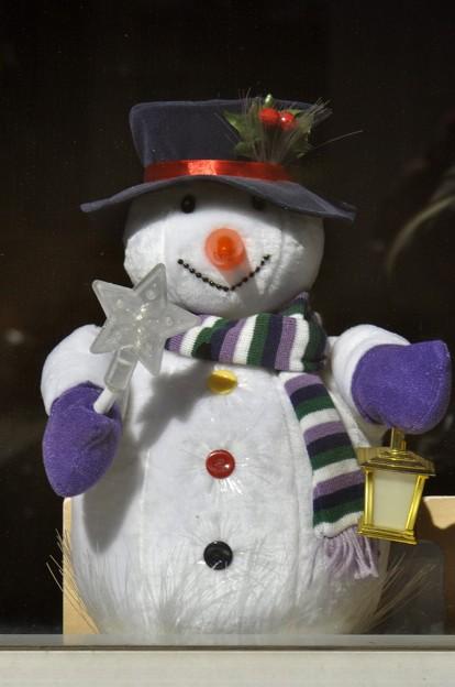 こちらは元気な Snowman