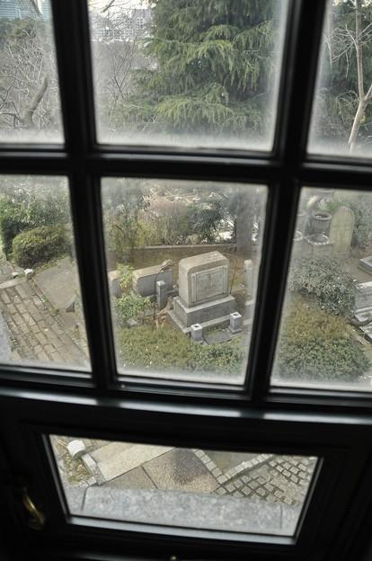 出窓からの眺め