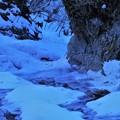 写真: 氷の造形 2