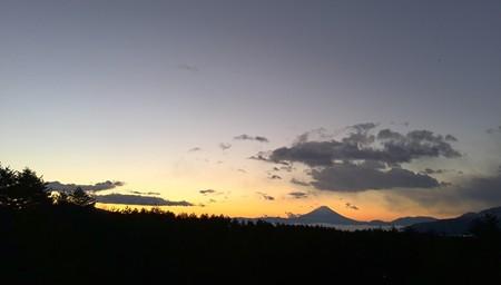 フジヤマ 夜明け前3