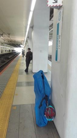 小田急線町田駅 前日移動