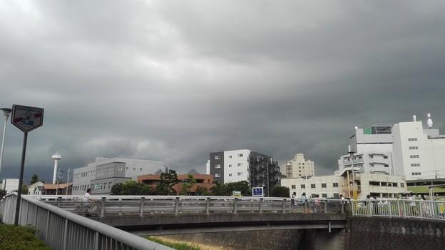 写真: 雨雲