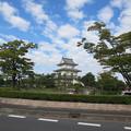 写真: 騎西城(模擬天守閣)