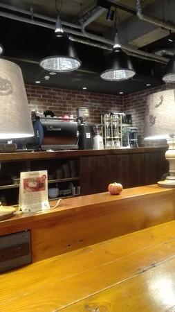 ザ カフェ店内