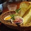 写真: チーズトースト