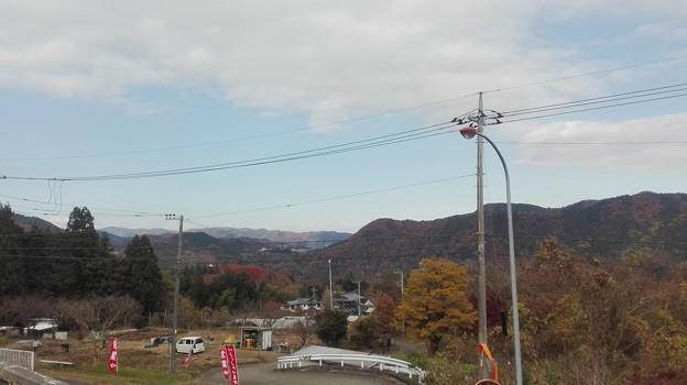 写真: 愛川の山々