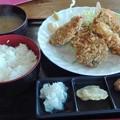 Photos: 本日のフライ定食(鮪と穴子)@レストランKANEDA
