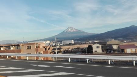 富士市からの富士山