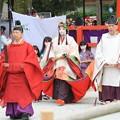 写真: 斎王代の参進
