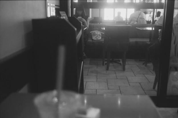 喫茶店の風景