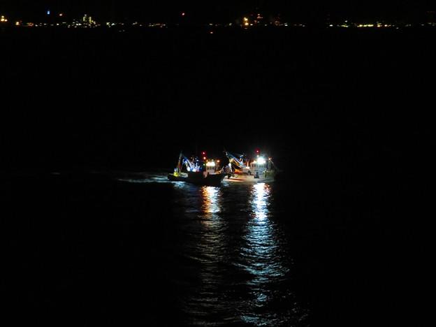 Photos: 夜の漁 2