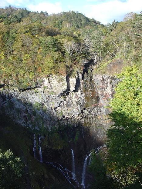 華厳の滝 (水なし)