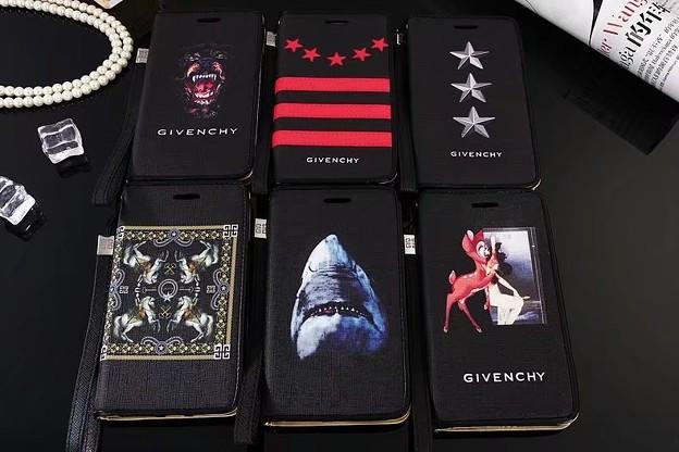 人気 iphone8/7s カバー ジバンシィ GIVENCHY手帳型iPhone7sPlus/7/6sケースGalaxyS8Plus