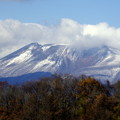 輝く浅間山