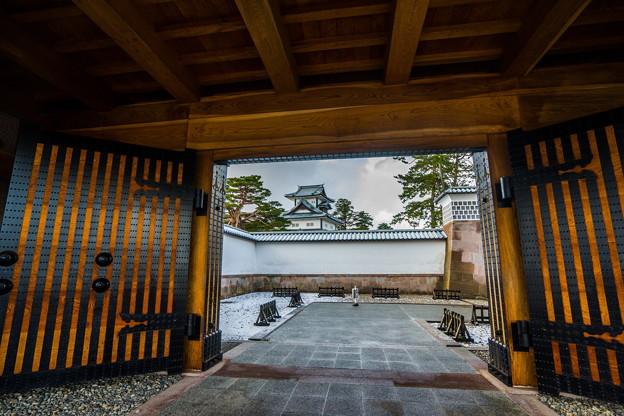 写真: 金沢城
