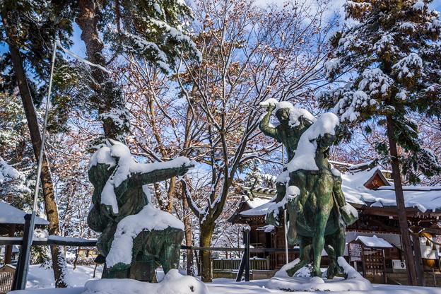 雪信玄vs雪謙信