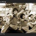 """写真: 早稲田大学 """"踊り侍""""_02 - 第10回 東京よさこい"""