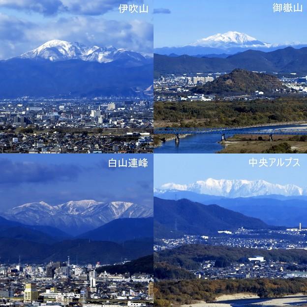 Photos: 初冠雪