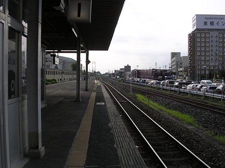 古川駅ホーム2